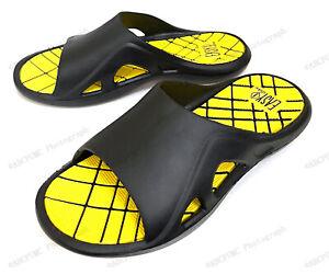 Men's Comfort Sandals Flip Flops Slide Sport Shower Beach Slip on Slippers Sizes