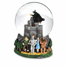 Wizard Of Oz Wicked Witch Castle 120mm Water Globe San Francisco Music Box New