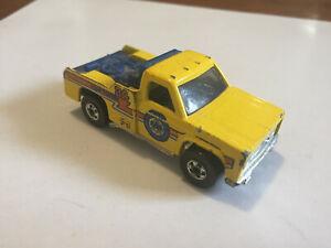 Hot Wheels 24 hour AAA towing tow truck Mattel 1974 missing hook
