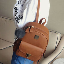 Women's Leather Backpack Travel Handbag Satchel Rucksack Shoulder School Bag USA