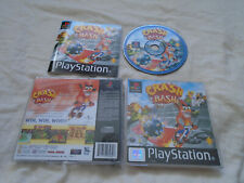 Crash Bash PS1 (COMPLETE) party game Bandicoot black label Sony PlayStation rare