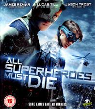 All Superheroes Must Die Blu-Ray | New & Sealed