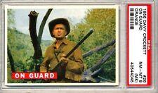 1956 Davy Crockett # 26 On Guard - PSA 8 (MK)