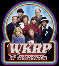 """70's Classic TV Show WKRP In Cincinnati """"The Gang"""" custom tee Any Size Any Color"""