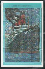 GUINEA, REPUBLIC OF # 1828 STORIES OF THE MILLENNIUM, THE TITANIC.  Sheet