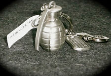 WWI HAND GRENADE METAL KEYCHAIN National World War I Museum Liberty Memorial