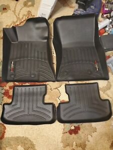 Weathertech floor liners for S550 Ford Mustang