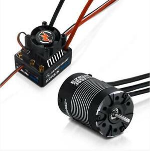 Hobbywing EzRun Max10 Combo 3652SL 4000Kv Brushless Motor 60A/450A ESC 38010204