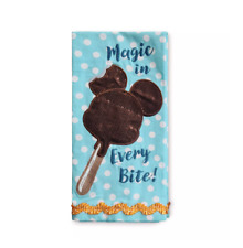 Disney Parks Mickey Ice Cream Bar Kitchen Towel New With Tag