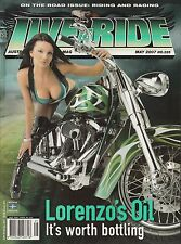 Live to Ride Issue #225 Outlaw Biker Lifestyle Harley Davidson Contents photo #2