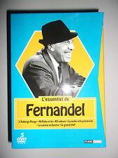 COFFRET 5 DVD L'ESSENTIEL DE FERNANDEL