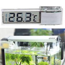 Digital LCD Thermometer Fisch Aquarium Wasser Temperatur Sensor Messergerät Neu