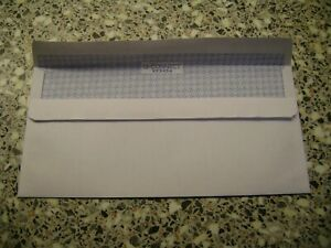 PLAIN ENVELOPES DL SELF SEAL WHITE 90 gsm WITHOUT WINDOW 110 X 220 mm  10 TO 500