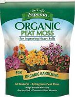 Espoma PTM8 Peat Moss, Organic, 8 Qts.