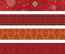 HEYDA Faltpapierstreifen 120g rot 96 Blatt