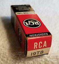 RCA Electronic Tube 19T8 - new in box - tested