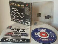 THE ITALIAN JOB - PlayStation 1 Sony PS1 Gioco Game Play Station PSX
