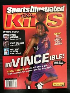 December 2000 Sports Illustrated For Kids InVinceible Magazine Vince Cooper