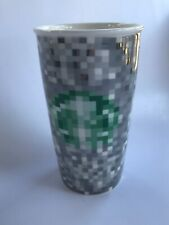 "2012 STARBUCKS COFFEE MUG CERAMIC RODARTE MINECRAFT – 6"" TALL NO LID – Excellent"