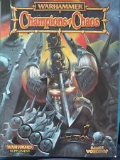 Warhammer Fantasy Champions of Chaos Rule Book - Very Good Condition