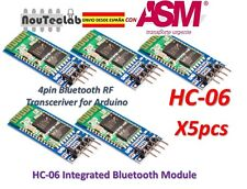 5pcs HC-06 Bluetooth Serial Transceiver Module Slave Master RS232 HC06