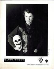david byrne (talking heads) 8 x 11 press photo