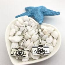 1 pair Large CAMERA Earrings Tibet silver Charms Earrings Charm Earrings for Her