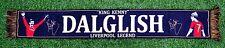 "Kenny Dalglish Liverpool Legend ""King Kenny"" Scarf Gift Souvenir Black"