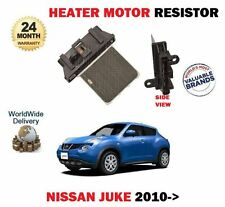 FOR NISSAN JUKE 1.2 1.5 DCI 1.6 DIG-T F15 2010->NEW HEATER MOTOR RESISTOR