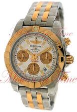 Breitling Chronomat 41 Watch Chrono Stainless Steel & Rose Gold CB014012/g713-TT