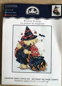 DMC Wizards Potions Cross Stitch Chart Only