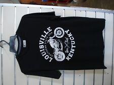 "MOTORCYCLE TEE SHIRT ""LOUISVILLE KENTUCKY"" - SIZE SMALL - UNISEX  - SAVE $!"