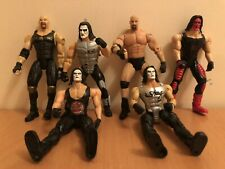 WWE WCW WWF Sting & Goldberg Figure Bundle 6 Figures Wrestling Vintage