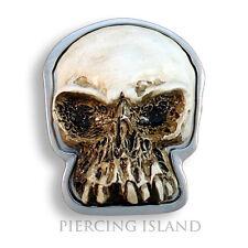 Boucle de ceinture métal Skull Buckle Punk Rock Motard Ceinture gs026