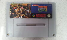 Donkey Kong Country 2 Diddy Kong Quest Super Nintendo Game SNES