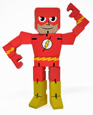 The Flash Wood Wooden Warrior 8 inches tall  Marvel Comics Poseable PPW 11416