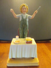 Shirley Temple Limited Edition Numbered Curly Top Porcelain Figurine #6529 box