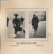 PHOTO PRESSE c. 1910 - Mode: Évolution des Styles  Paris - 217