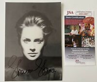 Sharon Stone Signed Autographed 5x7 Photo JSA Certified