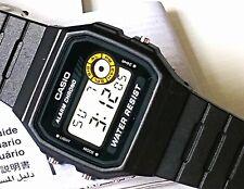 Casio F-94WA-8D Classic Black Resin Retro Digital Unisex Watch F94 F94W F94WA