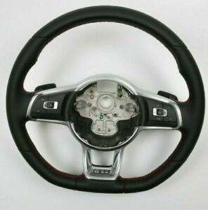 2G VW Polo Golf 7 T-Roc Tiguan Scirocco GTI Steering Wheel basic buttons DSG*NEW