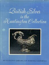 New listing British Antique Silver - Huntington Collection / Scarce Illustrated Book