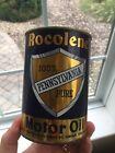 Vintage+ROCOLENE+100%25+PURE+PENNSYLVANIA+MOTOR+OIL+CAN