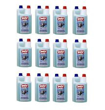 Box of 12 - Puly Liquid Milk Frother Cleaner Espresso Machine - 1L