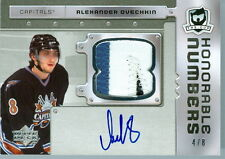 2006-07 UD THE CUP ALEXANDER OVECHKIN HONORABLE NUMBERS  4/8    ULTRA RARE!!!
