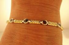 TOP Armband 750 Gold 11 Rubine 1,80 CT 33 Brillanten ca 0,50 ct Oro 18K 13,2 g
