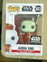 AURRA SING Smuggler's Bounty STAR WARS Funko Pop Vinyl New in Box + Protector