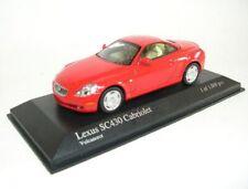 Lexus SC30 Cabriolet (Vulcanorot) 2004 - 1:43 MINICHAMPS