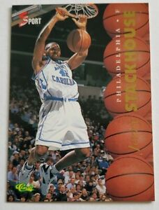 Jerry Stackhouse Classic 5 Sport 1995 NBA Card #3 North Carolina