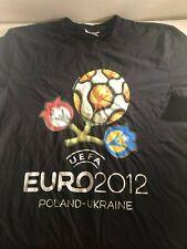 UEFA EURO 2012 Poland / Ukraine European Soccer Championships T-Shirt XL